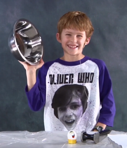 A Picture of a Kid in the Video