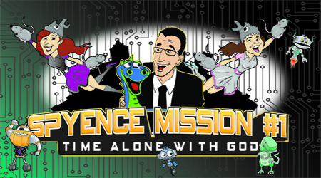 Check Out Spyence Mission #1