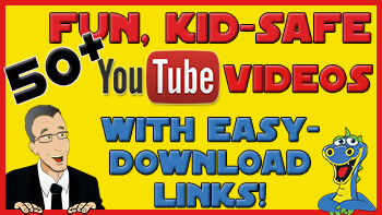 Click for YouTube videos for children's ministry.